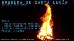 Hoguera de Santa Lucía