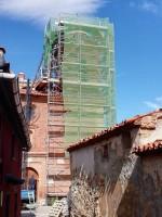 Obras de conservación de la Iglesia